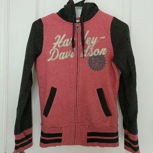 HD woman's zip up hoodie